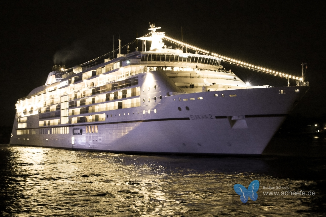 MS Europa 2 getauft